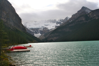Lake Louise...a rare moment when there were no people in my shot!