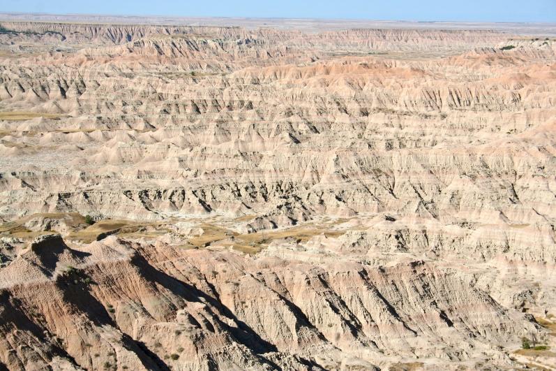 The alien landscape that is Badlands National Park