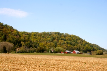Some of the beautiful scenery along the Mississippi. The leaves were just starting to turn; fall is upon us!