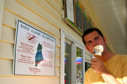 Maine is serious about its ice cream. So is Andrew.