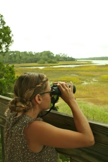 Is this why they named it Savannah? Sadly we failed to find any giraffes (or gators for that matter).