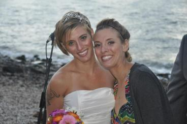 Me and the beautiful bride! Photo Cred: Ed Pino