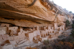 The Cliff Palace ruins at Mesa Verde are truly awe inspiring!