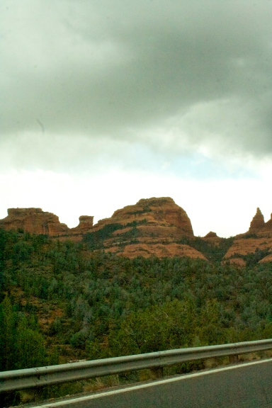 The red rocks outside Sedona are beautiful, although compared to the awe of Utah they're nothing to write home about!