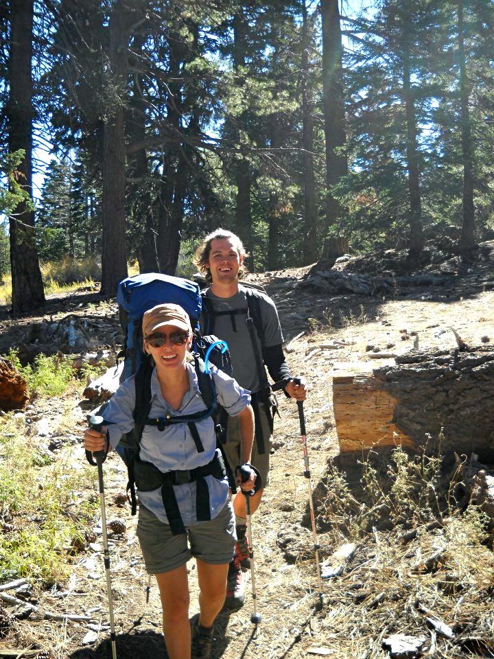 Last year we went backpacking near Idyllwild, CA