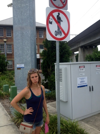 No rental bikes AND no segways? C'mon now, Brisbane!