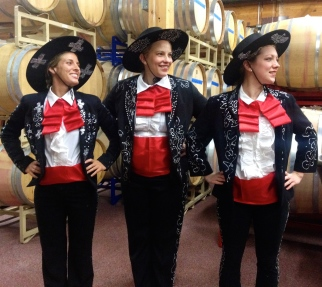 My chef pals Kristin, Julie, and I were the Three Amigos for Halloween. We made those costumes a mere 24 hours before the big night!