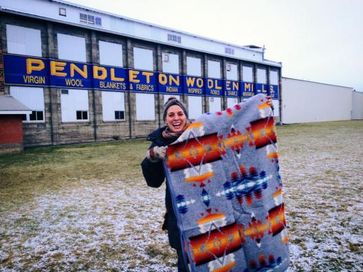 Such a great day! I'm still so excited about this blanket.