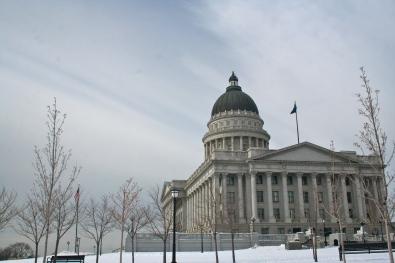 SLC's capitol building