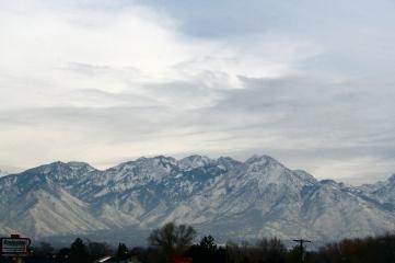 One of gorgeous mountain ranges that surround SLC