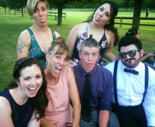 More cousins! I escaped to NY for a weekend wedding and it was so nice to see my family, despite the record heat wave!