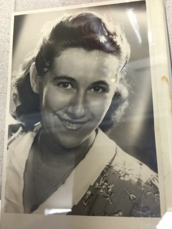 My beautiful grandmother.
